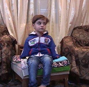 敘利亞兒童亞希亞