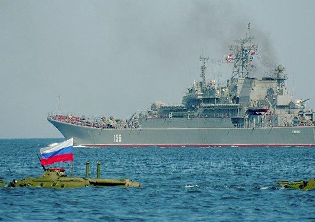 「亞馬爾」號大型登陸艦