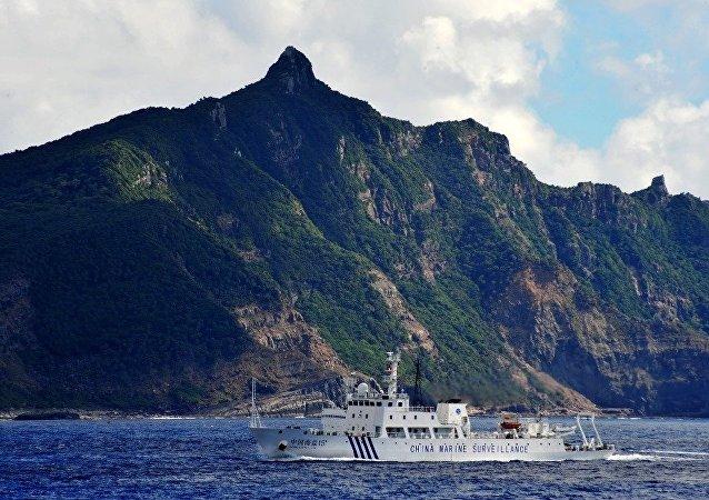日本告诉中国勿在有争议的岛屿附近活动