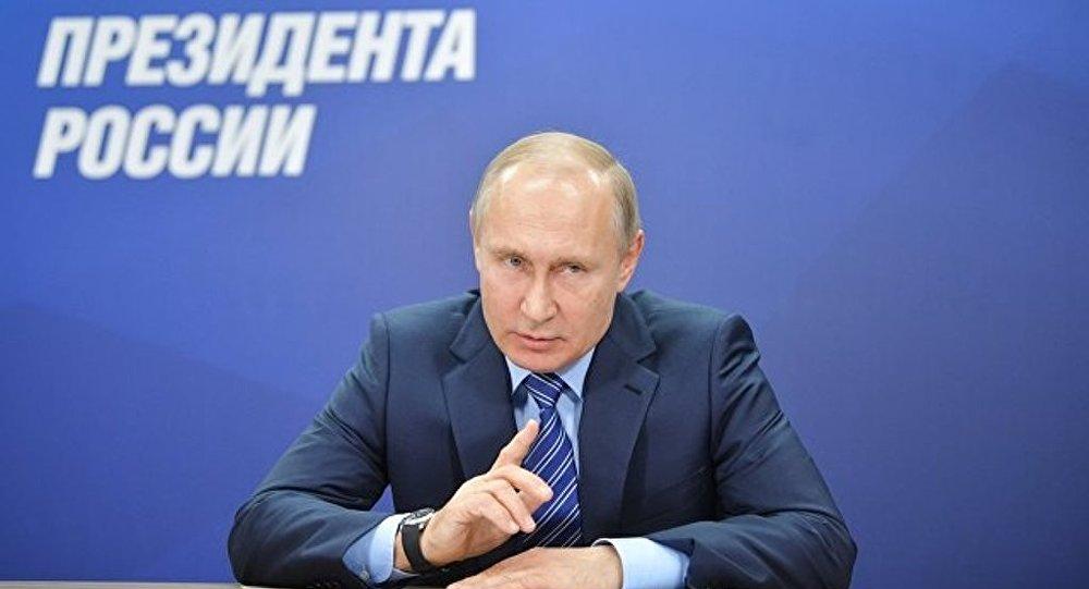 普京竞选总部已收集逾40万支持者签名