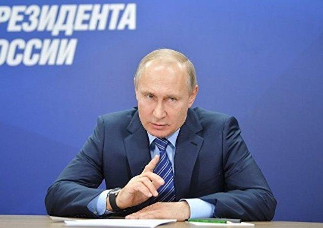 普京競選總部已收集逾40萬支持者簽名