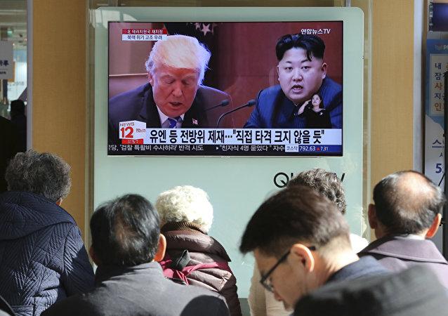 紧张局势处于美朝间而不是韩朝间