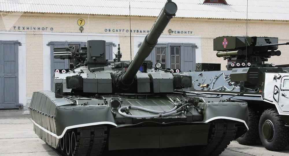 """乌克兰向泰国交付了一批""""堡垒""""坦克"""