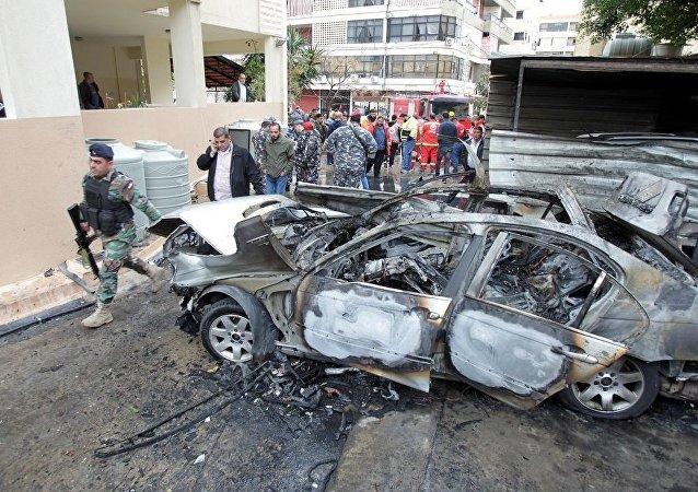 外媒:哈马斯领导人汽车在黎巴嫩南部爆炸