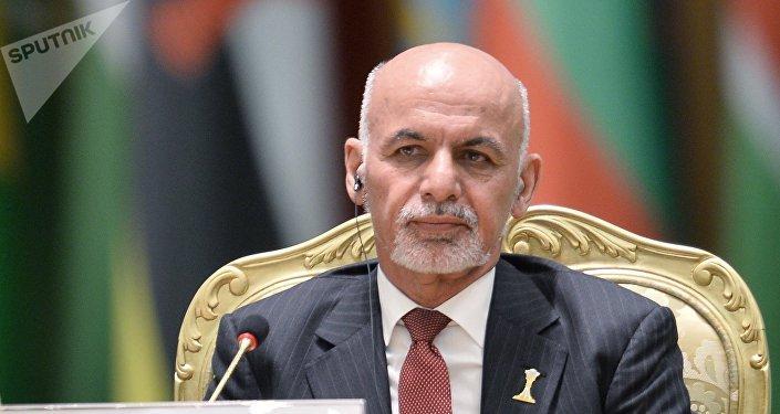 阿富汗總統加尼