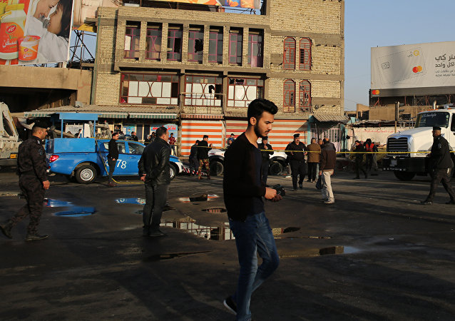 巴格达爆炸