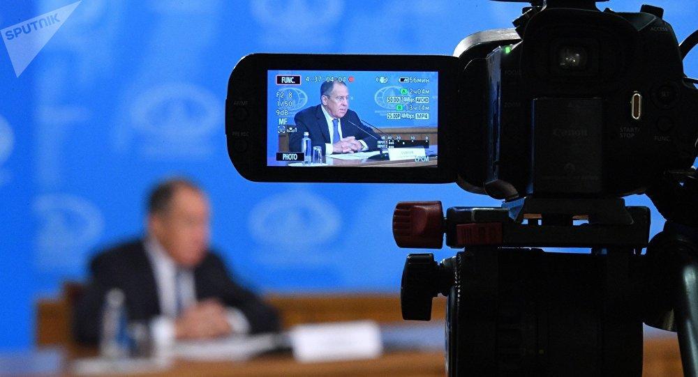 俄外長拉夫羅夫與朝鮮外相李勇浩的會談在莫斯科開始