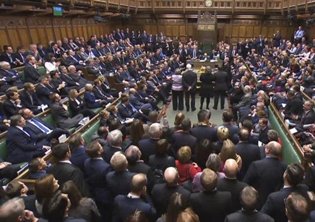 英国议会(资料图片)
