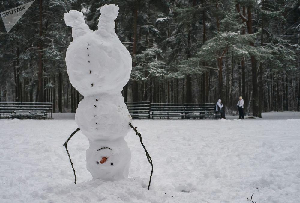 圣彼得堡雪人