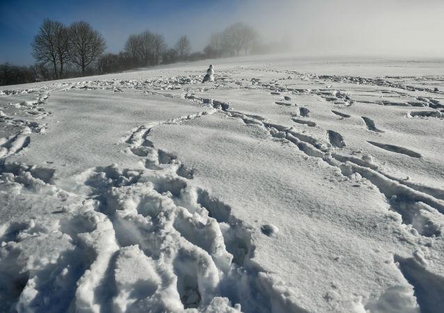 西班牙50多条公路因降雪被封