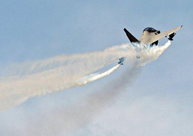 英战斗机在俄轰炸机进入挪威海上空后已停止跟踪
