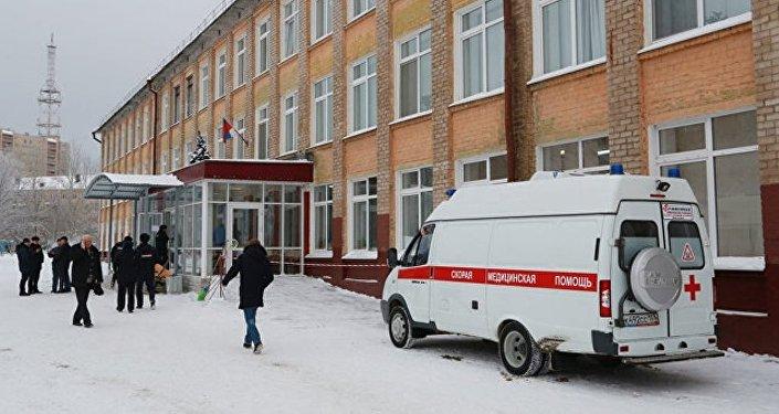 俄彼尔姆学校斗殴事件中受伤小学生目前情况稳定