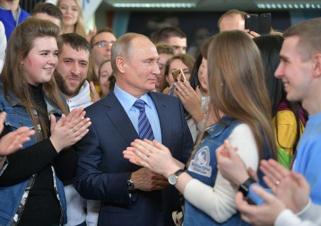 普京竞选总部已征集逾百万支持者签名