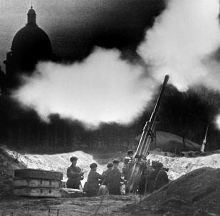 封鎖期間列寧格勒的保衛者