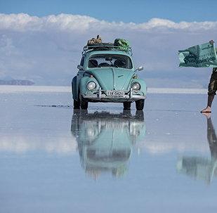 两名巴西人将驾驶老式甲克虫在俄罗斯世界杯期间旅行