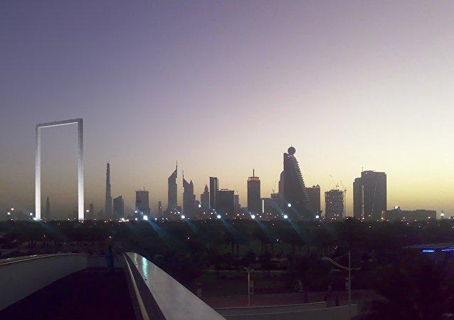 """迪拜新地标""""迪拜之框""""设计者控告迪拜政府剽窃"""