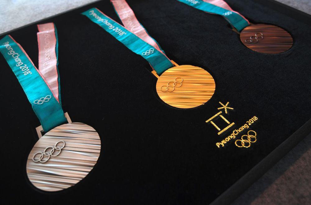 2018冬奧會獎牌