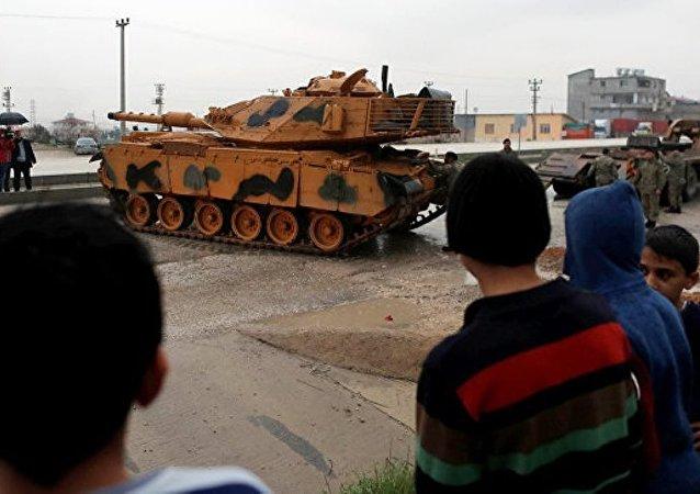 土耳其土叙边境部队进入高度备战状态