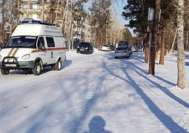 俄罗斯乌兰乌德校园袭击事件中一名伤者情况危重