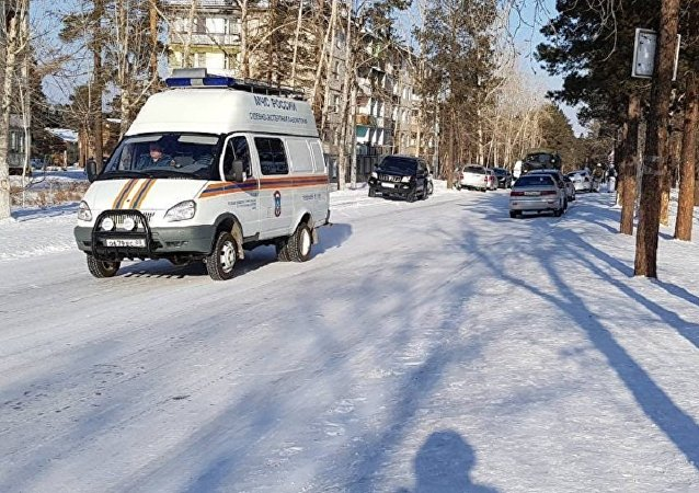19日乌兰乌德第五中学的7年级学生遭到袭击