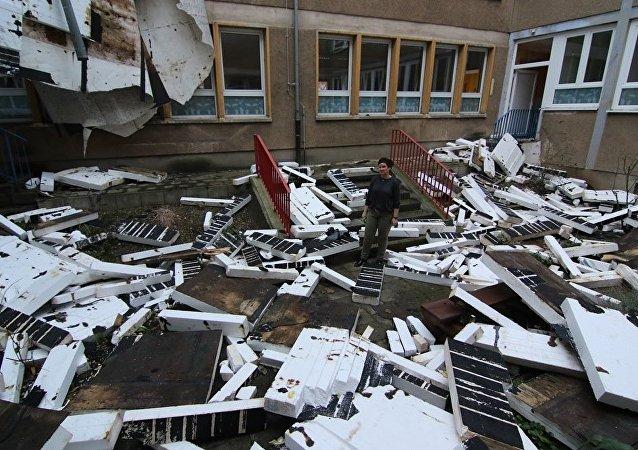 飓风弗里德里克给德国带来经济损失达5亿美元