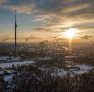 莫斯科昨晚迎来入冬以来最冷的一夜