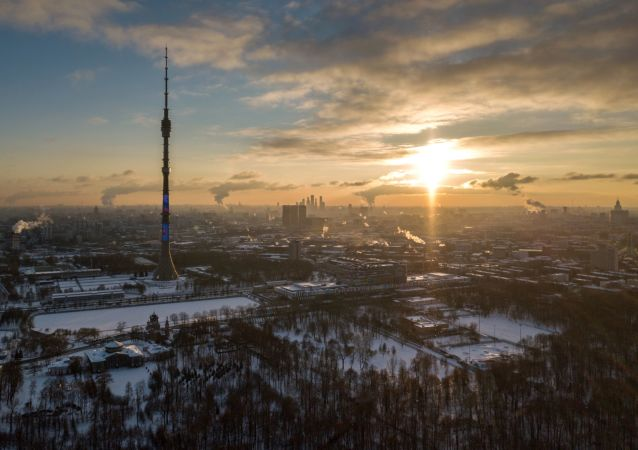 俄莫斯科奧斯坦金諾電視塔2月10日將亮起紅光迎接中國春節到來