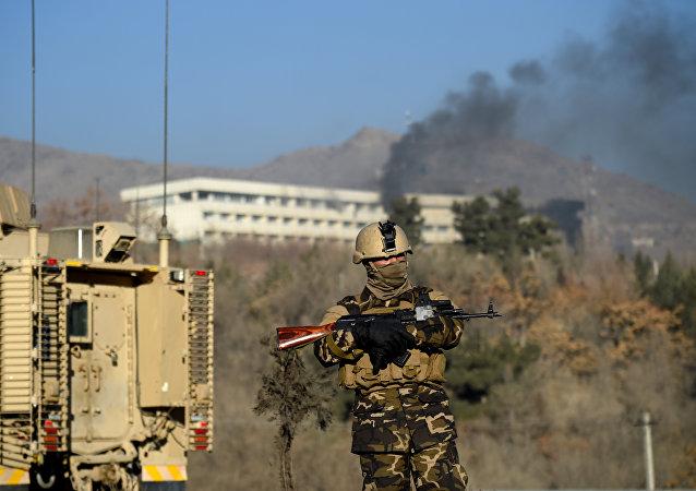 阿富汗首都喀布爾市