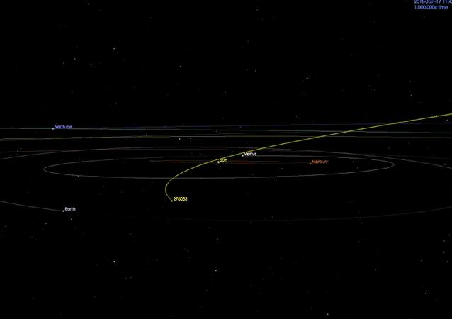 美国航空航天局:一颗和摩天大楼尺寸相近的小行星逼近地球