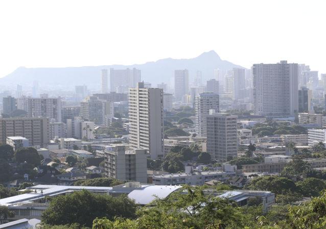 夏威夷州首府檀香山