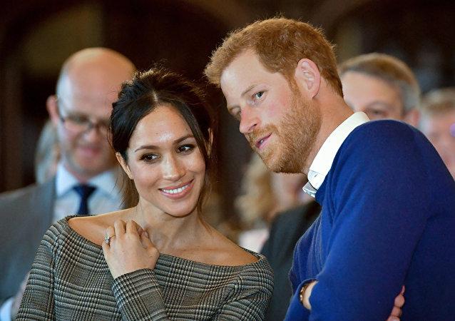 哈里王子夫妇以王室头衔注册商标