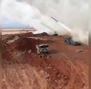 土耳其对叙利亚阿夫林的空袭视频