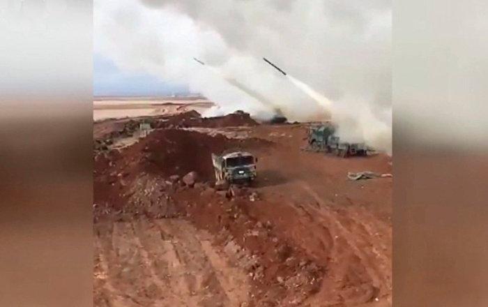 土耳其對敘利亞阿夫林的空襲視頻