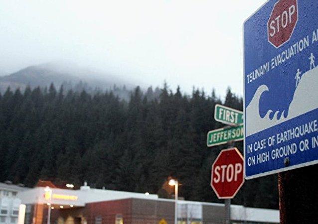 美国阿拉斯加发生8.2级地震