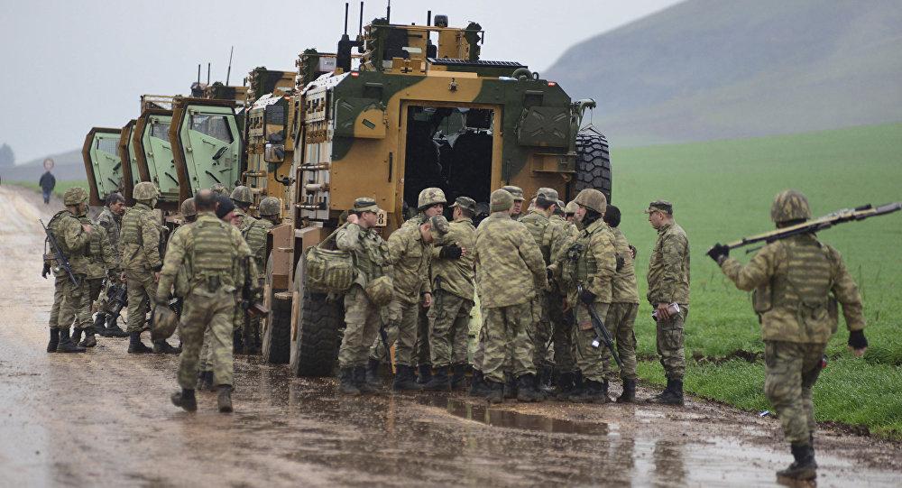 土耳其向叙利亚派遣增援部队
