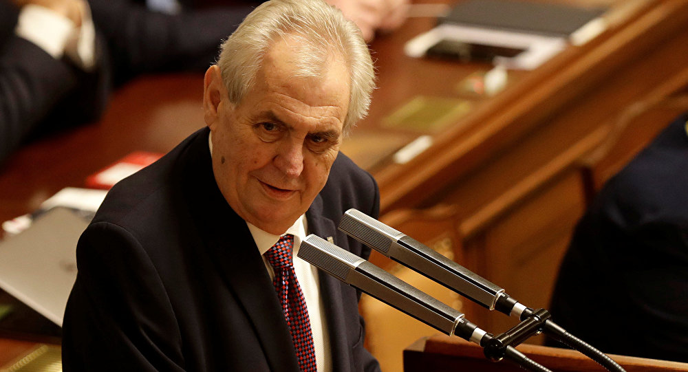 捷克总统泽曼
