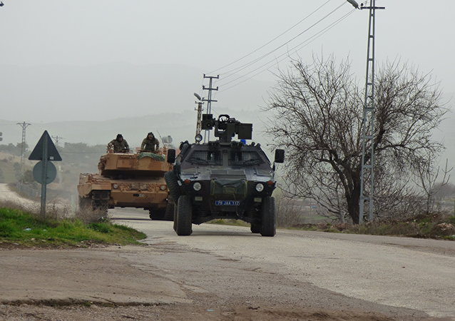 土军在叙利亚阿夫林