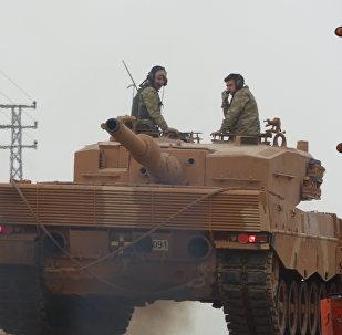 土耳其军队在叙利亚阿夫林