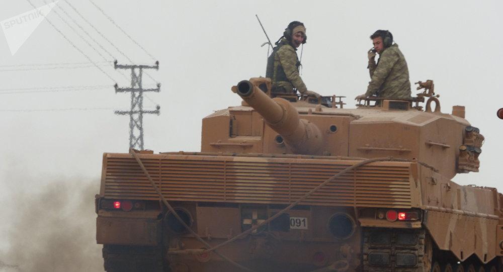 土耳其军队在阿夫林