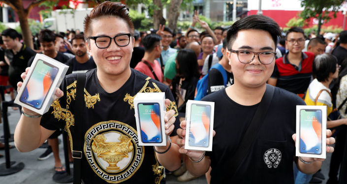 iPhone X,新加坡