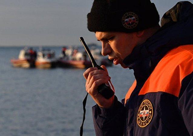 俄救援中心已无法接到失联船只无线电示位标信号