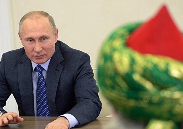 普京高度评价俄罗斯穆斯林国际活动
