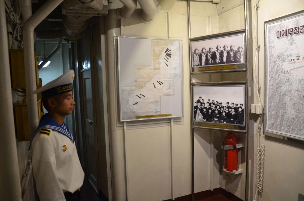 """""""普韦布洛""""号未从美国海军退役,所以它成为了美国海军迄今唯一一艘被他国俘虏的军舰。"""
