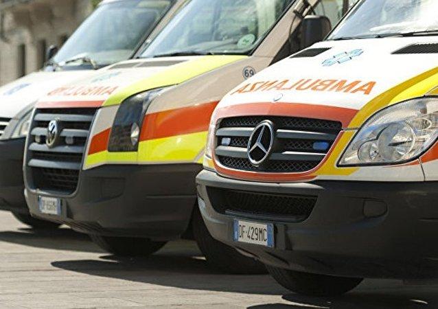 意大利北部发生火车脱轨 有人伤亡