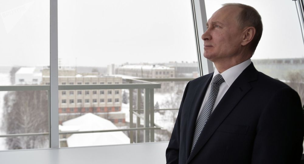 俄中选委已将普京登记为2018年俄总统大选候选人