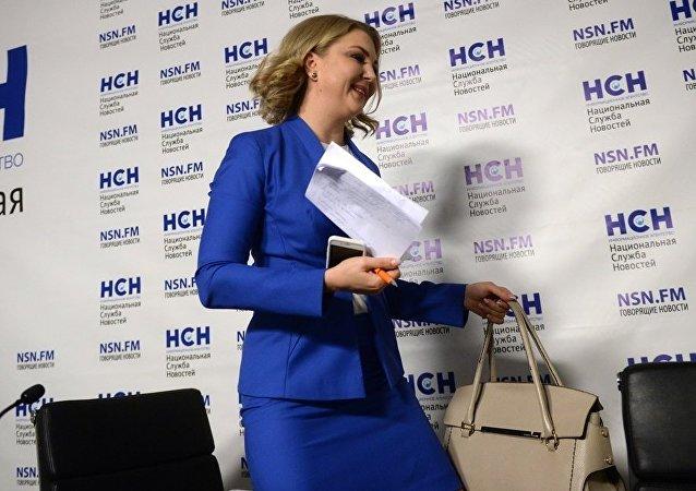 俄总统女性候选人沃雷涅茨