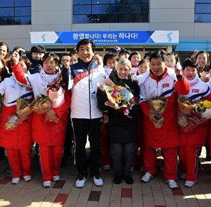 спортсмены северной Кореи