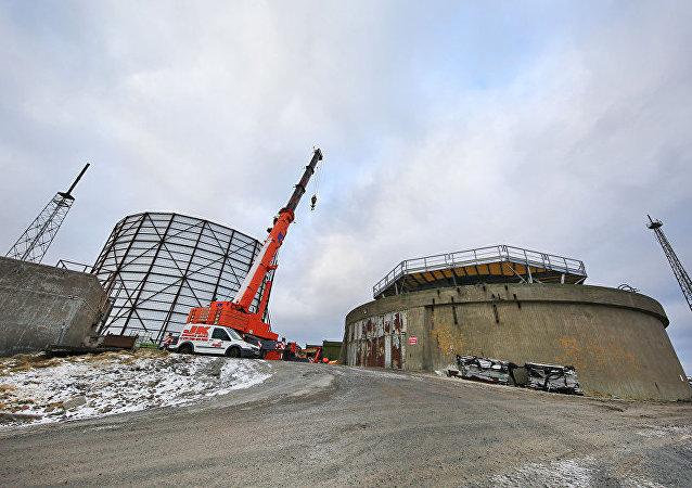 英國計劃在設得蘭的安斯特島裝備一台雷達