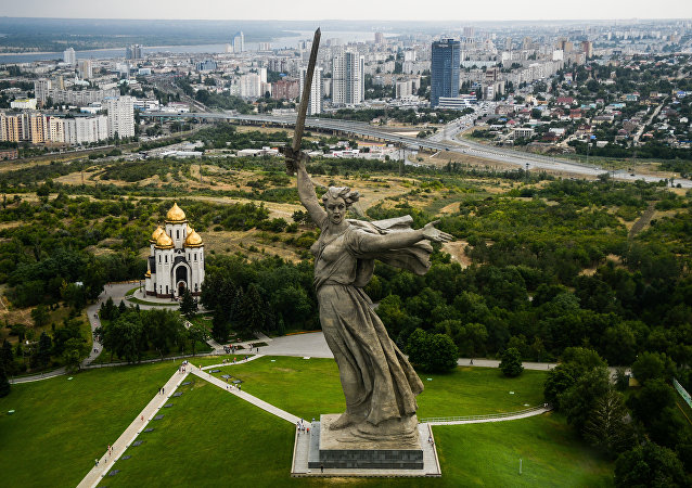 欢迎来到伏尔加格勒—2018年世界杯足球赛举办地!