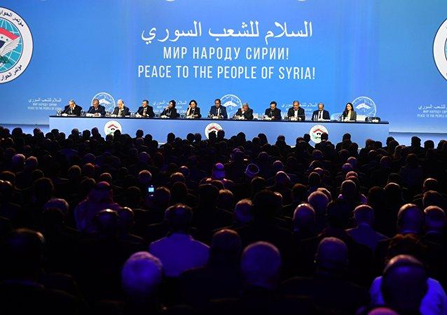 土耳其外长:安卡拉认为索契叙全国对话大会富有成果